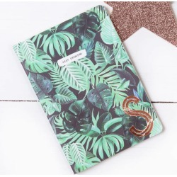 Palm Leaf Design Copper Monogram Notebook found on Bargain Bro Philippines from hardtofind.com.au for $18.83