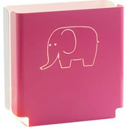 Kids' pink elephant night light