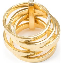 Jewel Tree London - 5 Stack Ring Gold Vermeil found on Bargain Bro UK from Wolf and Badger