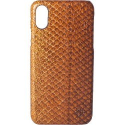 MAYU - Quinn Iphone Case Salmon Leather Cognac found on Bargain Bro UK from Wolf and Badger