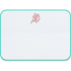Pickett's Press - Coral Note Cards found on Bargain Bro UK from Wolf and Badger