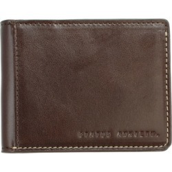 Ethan leather wallet in chocolate found on Bargain Bro from hardtofind.com.au for USD $39.76