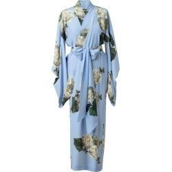 Castlebird Rose - Fleur Blanche Maxi Silk Kimono - Sky Blue found on MODAPINS from Wolf & Badger US for USD $872.00