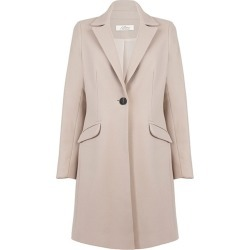 Allora - Wool Cashmere Tailored Coat Bisque