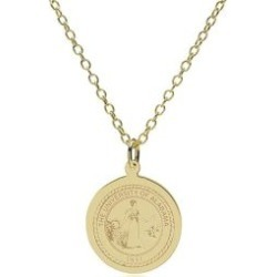 Alabama 14K Gold Pendant and Chain