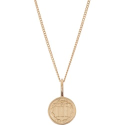 Katie Mullally - American Coin Necklace In Rose Gold Plate found on MODAPINS from Wolf and Badger for USD $166.63