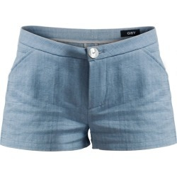 GISY - Linen Mini Shorts Ice Blue found on MODAPINS from Wolf and Badger for USD $110.07
