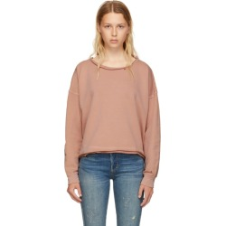 Amo Pink Boxy Sweatshirt found on MODAPINS from ssense asia-pacific for USD $162.74