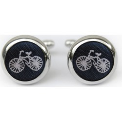 Bicycle cufflinks in navy found on Bargain Bro India from hardtofind.com.au for $39.18