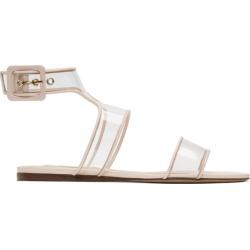 Valentino Pink Valentino Garavani Glassglow Bow Sandals