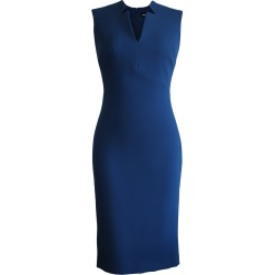 L'MOMO - Sleeveless Notched Collar Pencil Dress found on MODAPINS from Wolf & Badger US for USD $693.00
