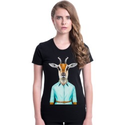 Gazelle women's fitted tee found on MODAPINS from hardtofind.com.au for USD $52.97