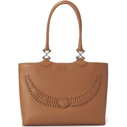 YiY - Wave Working Bag & Tote Personalizable In Lion Brown