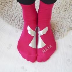 Personalised Angel Socks