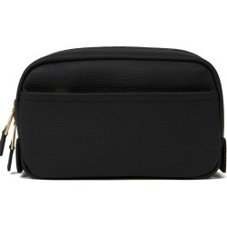 Volition - Jules - Leather Wash Bag Black found on Bargain Bro UK from Wolf and Badger