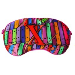 Jessica Russell Flint - X Is For Xylophone Silk Eye Mask found on Bargain Bro India from Wolf & Badger US for $62.00