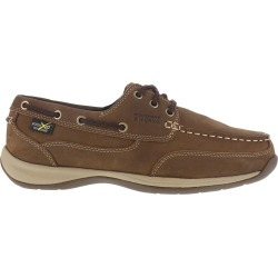 Rockport Works Men's Sailing Club Steel Toe Boat Shoes, Brown found on Bargain Bro India from Eastern Mountain Sports for $124.99