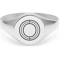 Myia Bonner - Silver O Facett Initial Signet Ring found on Bargain Bro Philippines from Wolf & Badger US for $214.00
