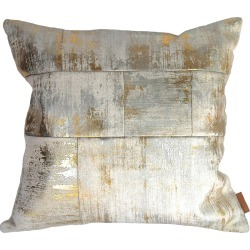 Mumo - Patchwork Foil Cushion found on Bargain Bro UK from Wolf and Badger