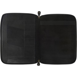 VIDA VIDA - Classic Black Leather A4 Document Holder found on Bargain Bro Philippines from Wolf & Badger US for $106.00