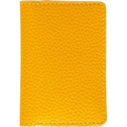 BEEN London - Passport Cover In Ripe Mango found on Bargain Bro from Wolf & Badger US for USD $68.40
