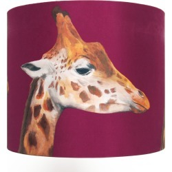 Katie & the Wolf - Giraffes Lampshade Medium found on Bargain Bro UK from Wolf and Badger