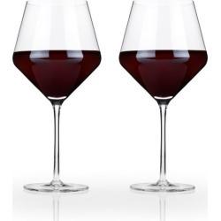 Raye Crystal Burgundy Glasses found on Bargain Bro from hardtofind.com.au for USD $41.21