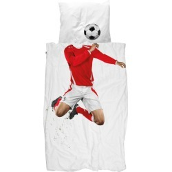 Snurk quilt cover set soccer champ set red found on Bargain Bro Philippines from hardtofind.com.au for $136.28