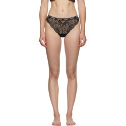 Aries Black Lace Brazilian Briefs