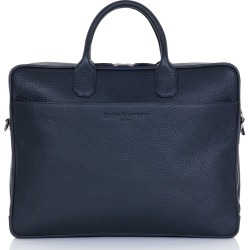 David Hampton - Richmond Leather Executive Briefcase In Midnight