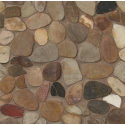 Hemisphere Floor & Wall Mosaic in Kona Sands