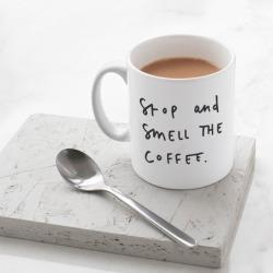 Smell the coffee Mug