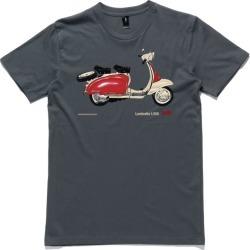 Lambretta scooter t-shirt found on MODAPINS from hardtofind.com.au for USD $35.29