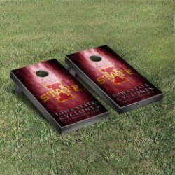 Iowa State Cyclones Cornhole Game Set Metallic-Look
