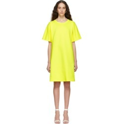 A-Plan-Application Yellow T-Shirt Dress found on MODAPINS from ssense asia-pacific for USD $340.92