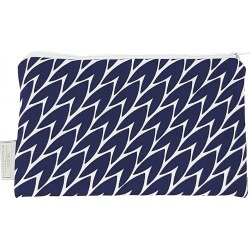 Laura Jackson Design - Leaf Pouch Dark Blue found on Bargain Bro UK from Wolf and Badger