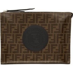 Fendi Brown Forever Fendi Pouch found on Bargain Bro India from ssense asia-pacific for $784.96