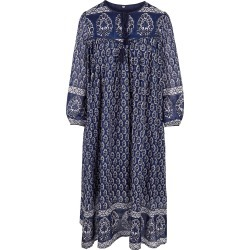 Dilli Grey - Ginnie Dress In Midnight Blue found on MODAPINS from Wolf & Badger US for USD $198.00