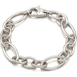 ille lan - Catena Bracelet Sterling Silver White Gold found on Bargain Bro Philippines from Wolf & Badger US for $245.00