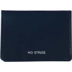VIDA VIDA - No Stress Navy Leather Travel Card Holder found on Bargain Bro Philippines from Wolf & Badger US for $32.00