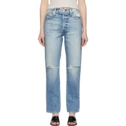 Amo Indigo Layla Jeans found on MODAPINS from ssense asia-pacific for USD $172.61