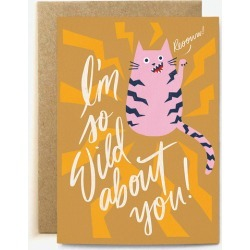 Wild About Greeting Card