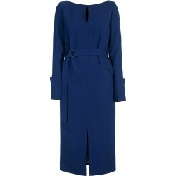 DIANA ARNO - Lilith Pencil Dress In Autumn Blue found on MODAPINS from Wolf & Badger US for USD $251.00