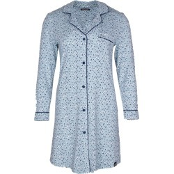 Pretty You London - Bamboo Long Sleeved Womens Classic Nightshirt In A Heart Splash Print found on Bargain Bro from Wolf & Badger US for USD $54.72
