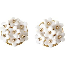POPORCELAIN - Mini Daisy Cluster Clip Earrings found on Bargain Bro from Wolf & Badger US for USD $288.80
