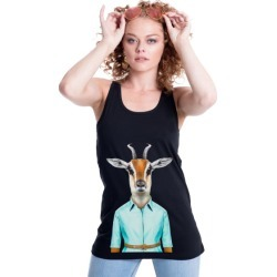 Gazelle women's fitted singlet found on MODAPINS from hardtofind.com.au for USD $52.97