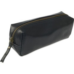 VIDA VIDA - Black Leather Pencil Case found on Bargain Bro Philippines from Wolf & Badger US for $48.00