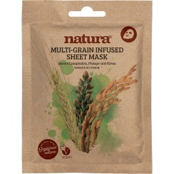natura - Multi-Grain Sheet Mask found on Makeup Collection from Wolf and Badger for GBP 5.12