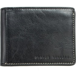 Ethan leather wallet in black found on Bargain Bro India from hardtofind.com.au for $47.95