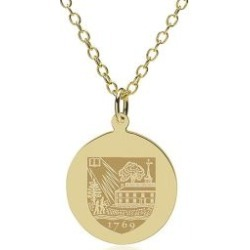 Dartmouth 14K Gold Pendant and Chain